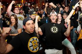 In fairness, some Bruins fans can be dicks. But not you, of course. You are a Bruins fan for all the right reasons. Because of the skill and athleticism displayed in the sport. You sniff judgmentally at those who go just to see the enforcers beat someone up. You watch for the *strategy,* and drink only in moderation.