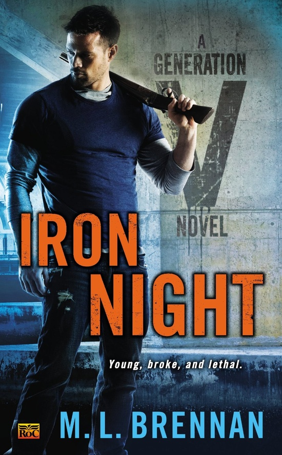 Iron Night released cover big version