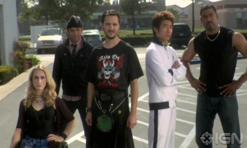 Wil Wheaton (center, in the kilt -- which you already knew, because DUH Wil Wheaton!)