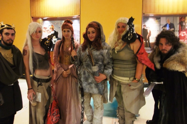Very typically me, I had my camera with me at all times, yet never took a picture with my fellow panelists, or even of my fellow panelists. So instead why not enjoy this picture I took of my favorite set of Game of Thrones cosplayers? That Jon Snow is totally killing it.