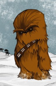 """Chewbacca the Wookiee"" by Chris Uminga - I found this at dmsw.net"