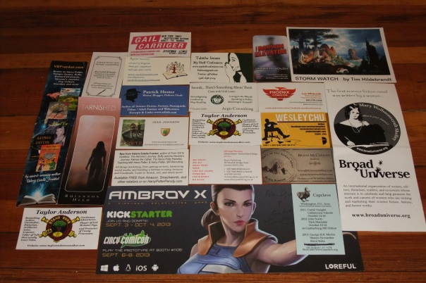 WorldCon cards and items