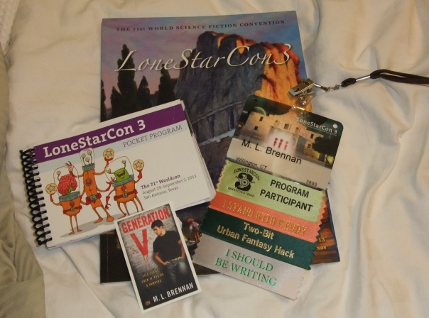 WorldCon items