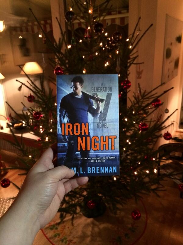 Courtesy of Annika Einarsson, holiday Iron Night!
