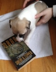 Tepper the puppy recommends that you read Grass. Clearly this puppy is wise beyond her weeks.