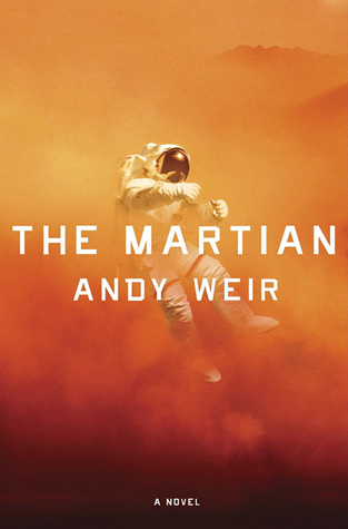 Okay, so maybe I was the last person to check this book out. (Second-to-last -- I gave it to my husband after I finished and he loved it. Wait, maybe third-to-last -- I promised to lend it to my brother next)  But who cares? It's awesome. Science + humor + castaway on Mars = awesome.