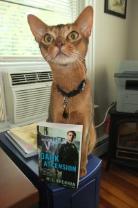 Shackleton models the latest copy of Dark Ascension. The perfect look for fall!